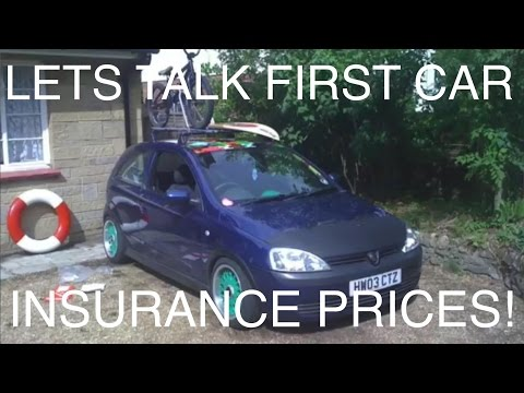 Lets Talk First Car Insurance Prices | Vlog#10 (видео)
