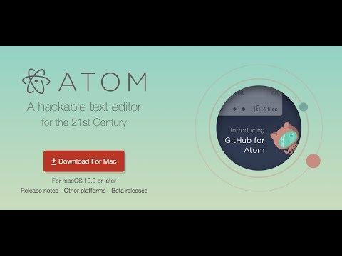 Atom Portable and Mac Terminal