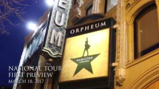 On March 10, 2017, #Hamiltour officially launched in San Francisco. Go inside the excitement of the evening! #HamiltonSF