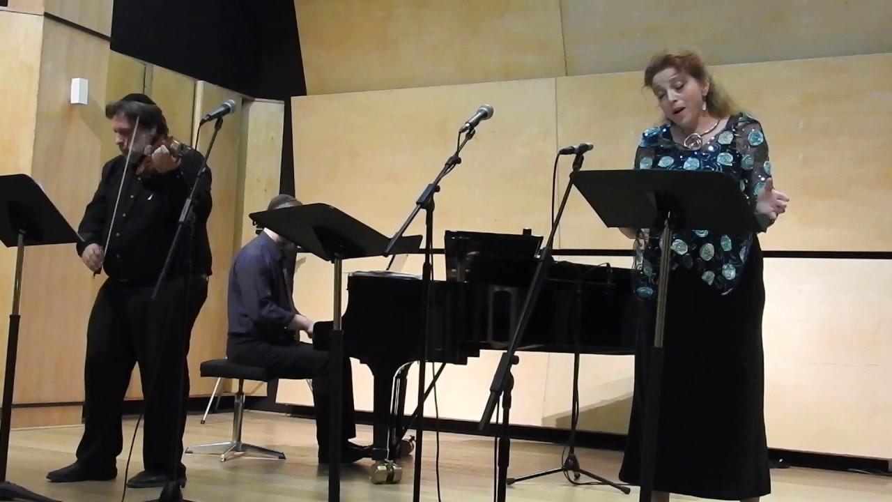 Schkyar. Yefe Nof. Shirelle Dashevsky (soprano), Eyal Shiloah (violin), Uri Brenner (piano) (2018) Jerusalem.