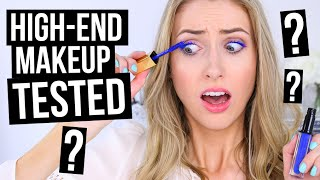 TESTING NEW HIGH-END MAKEUP?! || 5 First Impressions by Rachhloves