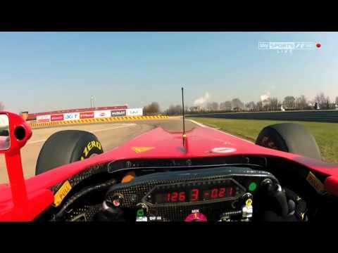 martin brundle spiega come guidare una f1