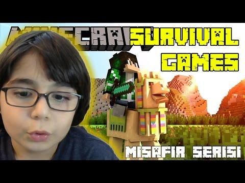 Minecraft Survival Games Misafirlerimle Kazandım mı? - BKT
