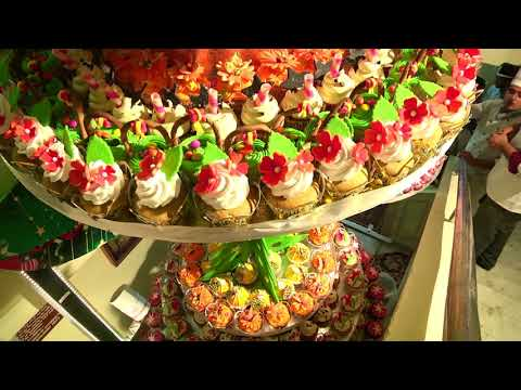 Tallest Cup Cake Tower Making At Culinary Academy Of India