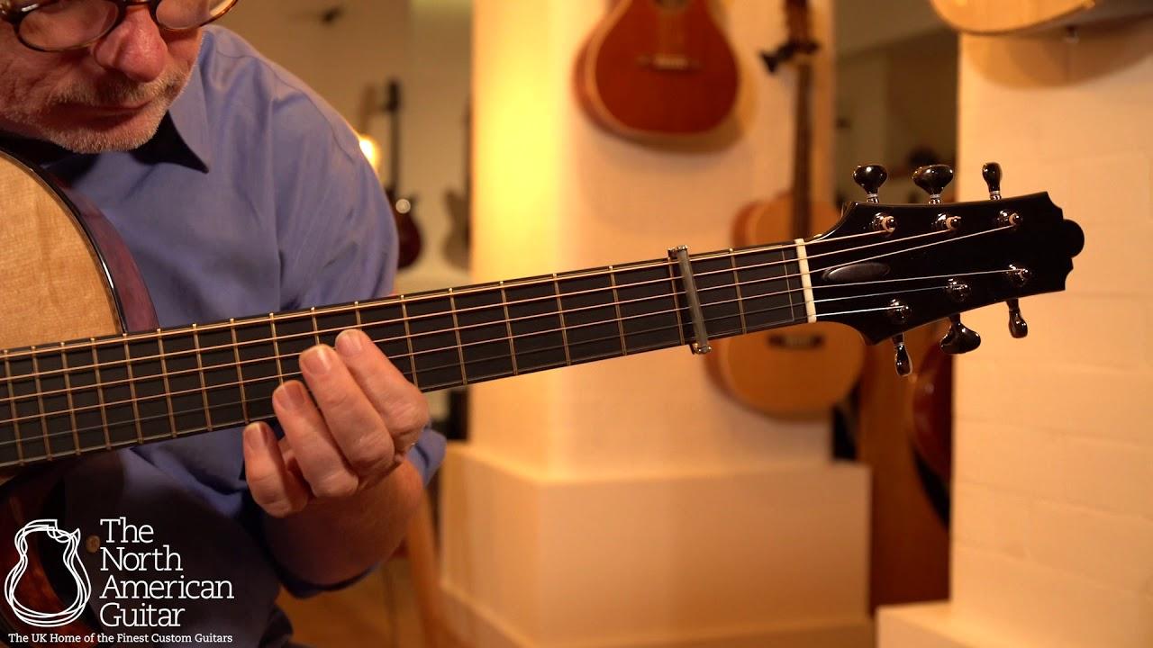 Beauregard Guitars OM Cutaway Acoustic Guitar Played By Tony McManus (Part Two)