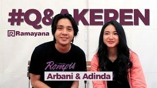 Video BIKIN BAPER! Cerita Adegan Romantis Arbani Yasiz & Adinda Azani MP3, 3GP, MP4, WEBM, AVI, FLV Agustus 2018
