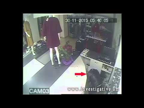 Հագուստի խանութի դրամարկղից գողացել է զգալի չափի գումար (Տեսանյութ)