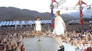 "White Party 2013 - Icona Pop - ""I Love It"" Performance"