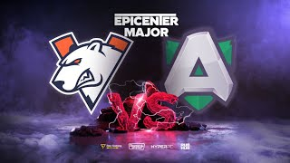 Virtus.pro vs Alliance, EPICENTER Major, bo3, game 2 [CrystalMay & Eiritel]