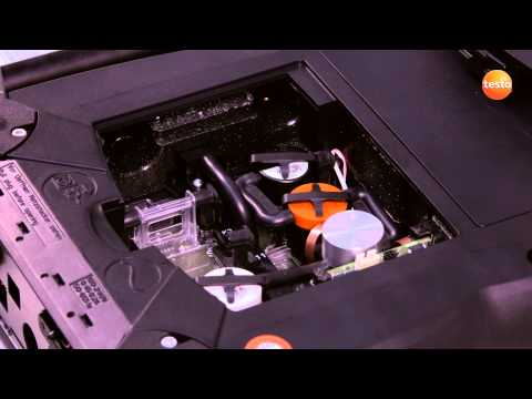 testo 350 Gas Analyser - Step 10 - How to Replace Sensors