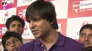 Vivek Oberoi Celebrates Diwali 2013  With Cancer Children