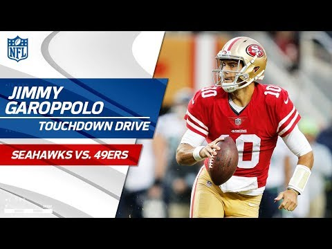 Video: Jimmy Garoppolo Comes in the Game & Tosses Perfect TD Strike! | Seahawks vs. 49ers | NFL Wk 12
