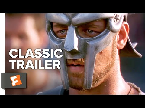 Gladiator (2000) Trailer #1 | Movieclips Classic Trailers (видео)