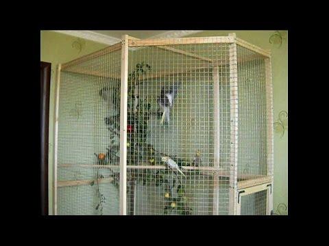 Вольеры для попугайчиков