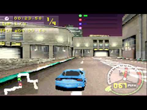 Need for Speed Carbon : Own the City GBA