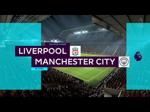 Fifa 19 Liverpool Vs Manchester City Xbox One S Full Match Gameplay