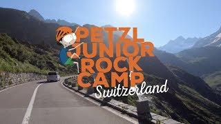 Petzl Junior Rock Camp Switzerland 2019 by Petzl Sport