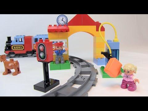 LEGO DUPLO EISENBAHN STARTER SET TEST + REVIEW