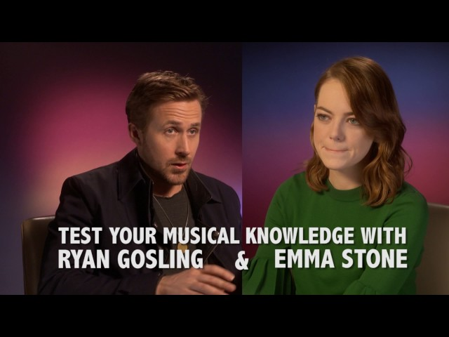 RYAN GOSLING VS EMMA STONE! Guess The Musical Quiz!