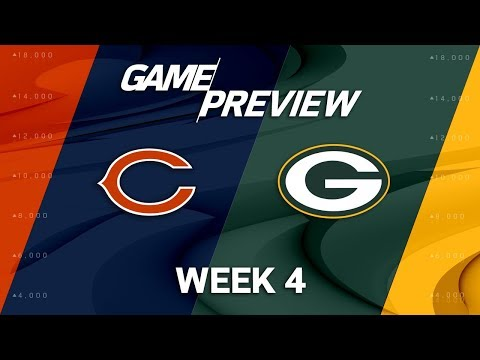 Video: Chicago Bears vs. Green Bay Packers | Week 4 Game Preview | NFL Playbook