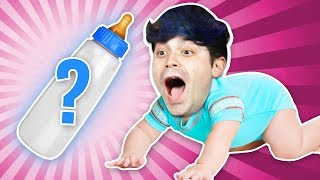 Mystery Baby Bottle Challenge! by Smosh Games