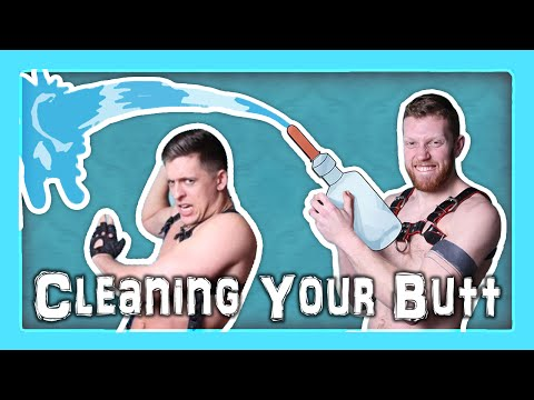 CLEANING OUT - For Anal Sex