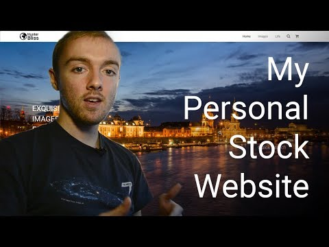 How I will sell my own stock photography, and how you can sell your own too!