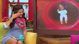 Ana Patricia se olvidó de las cámaras y lloró por una carta de su bebé