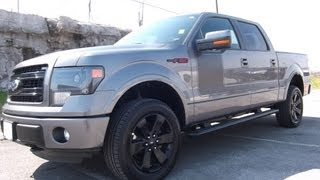 2013 FORD F-150 SUPERCREW FX4 APPEARANCE PACKAGE 5.0 STERLING GREY FORD OF MURFREESBORO 888-439-1265