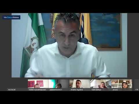 Pleno ordinario del Ayuntamiento de Isla Cristina (28 Mayo 2020)