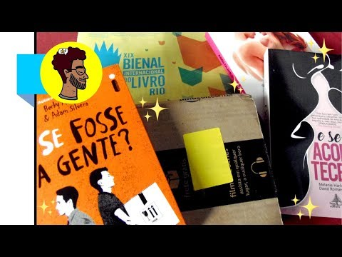 Amazon Prime, Unboxing + Unhaul & Ressaca Pós Bienal | VLOG | BOOKCRUSHES