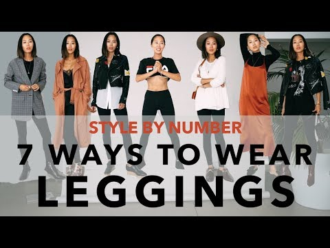 7 Ways To Wear Leggings - Style By Number | Aimee Song