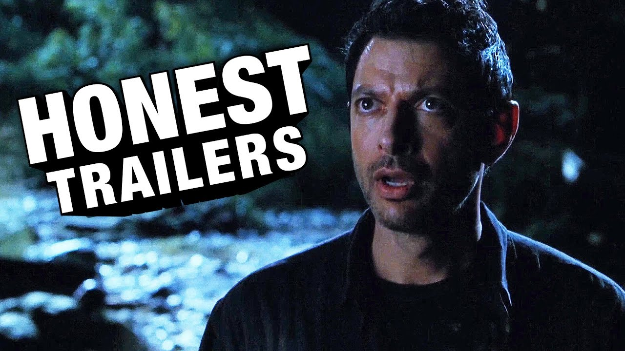 Watch: Steven Spielberg's Jurassic Park, 'The Lost World: Jurassic Park' & Jurassic Park III [Honest Trailer]