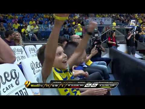 Recap: Maccabi FOX Tel Aviv 66 - Hapoel Be'er Sheva 64