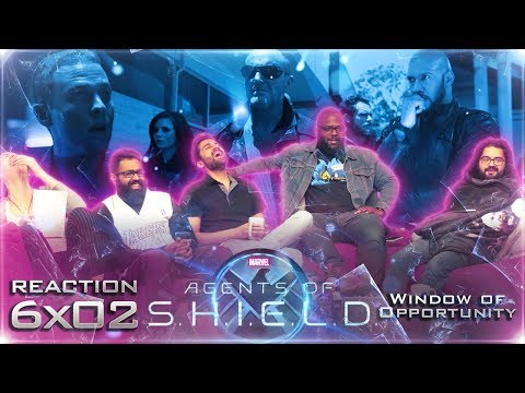 Agents of Shield - 6x2 Window of Opportunity - Group Reaction