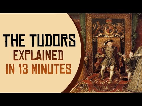 The Tudors Explained in 13 Minutes
