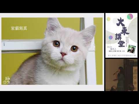 20180623大東講堂-貓夫人「貓夫人的跑!碰!跳!人生」-影音紀錄