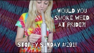 WOULD YOU SMOKE WEED AT PRIDE?! | ask stoney sunday | CoralReefer by Coral Reefer