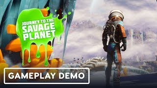 Journey To The Savage Planet Lets You Be a Jerk In Space - Gamescom 2019 by IGN