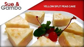 Learn How to Make Yellow Split Pea CakePlease like, share, comment and/or subscribe if you would like to see new future recipes or support our channel.https://www.youtube.com/channel/UCxsMiu1Ghxc2lH0v7wEM0Mg?sub_confirmation=1