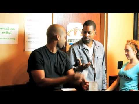 On the road with Tony Rock (comedy skit)