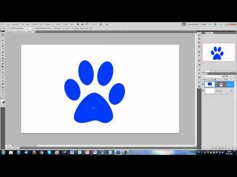Photoshop – Form Kontur Zeichnen