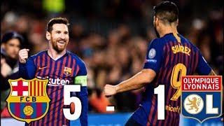 Barcelona vs Lyon [5-1] - Champions League, Round of 16, 2nd Leg - MATCH REVIEW