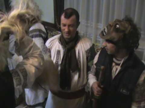 Revelion 2010 - Mascati,capra si ursul