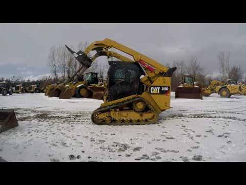 CATERPILLAR CARGADORES MULTITERRENO 289D equipment video uw72THUaOVw
