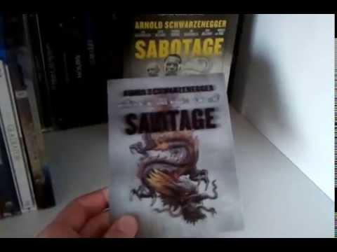 Sabotage (2014) Blu-ray Steelbook Lenticular Magnet