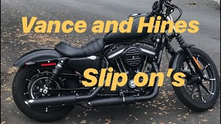 7. Iron 883 with Vance and Hines slip on's