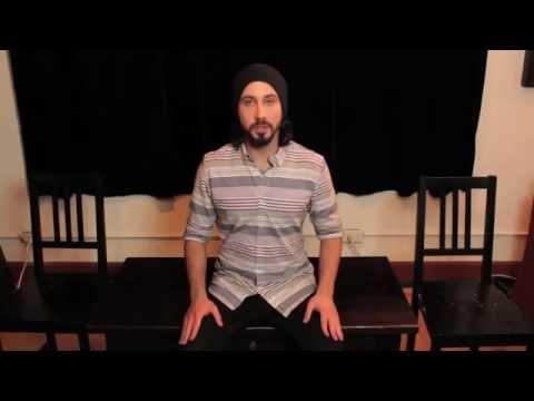 "Pentatonix ""White Winter Hymnal"" slowmotion tutorial"
