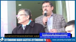 AK Parti Zeytinburnu Seyitnizam Seçim Bürosu Açılış