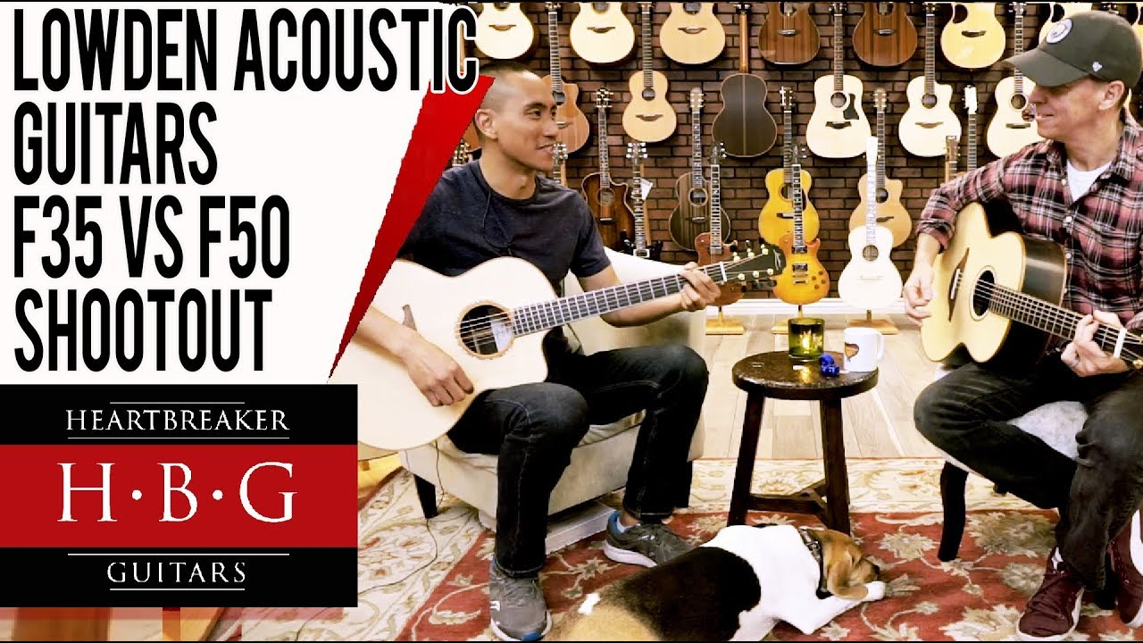 Lowden Acoustic Guitars F35 vs F50 Shootout